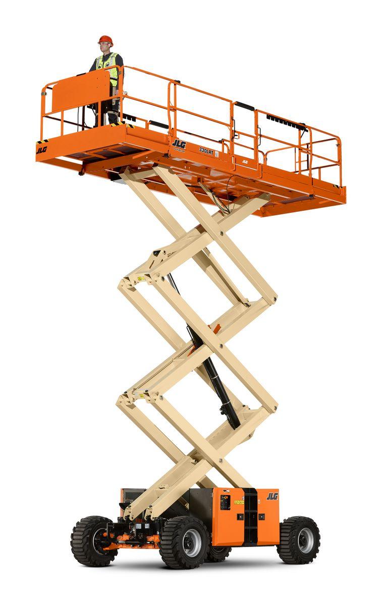 Diesel scissor lifts - TVH Equipment