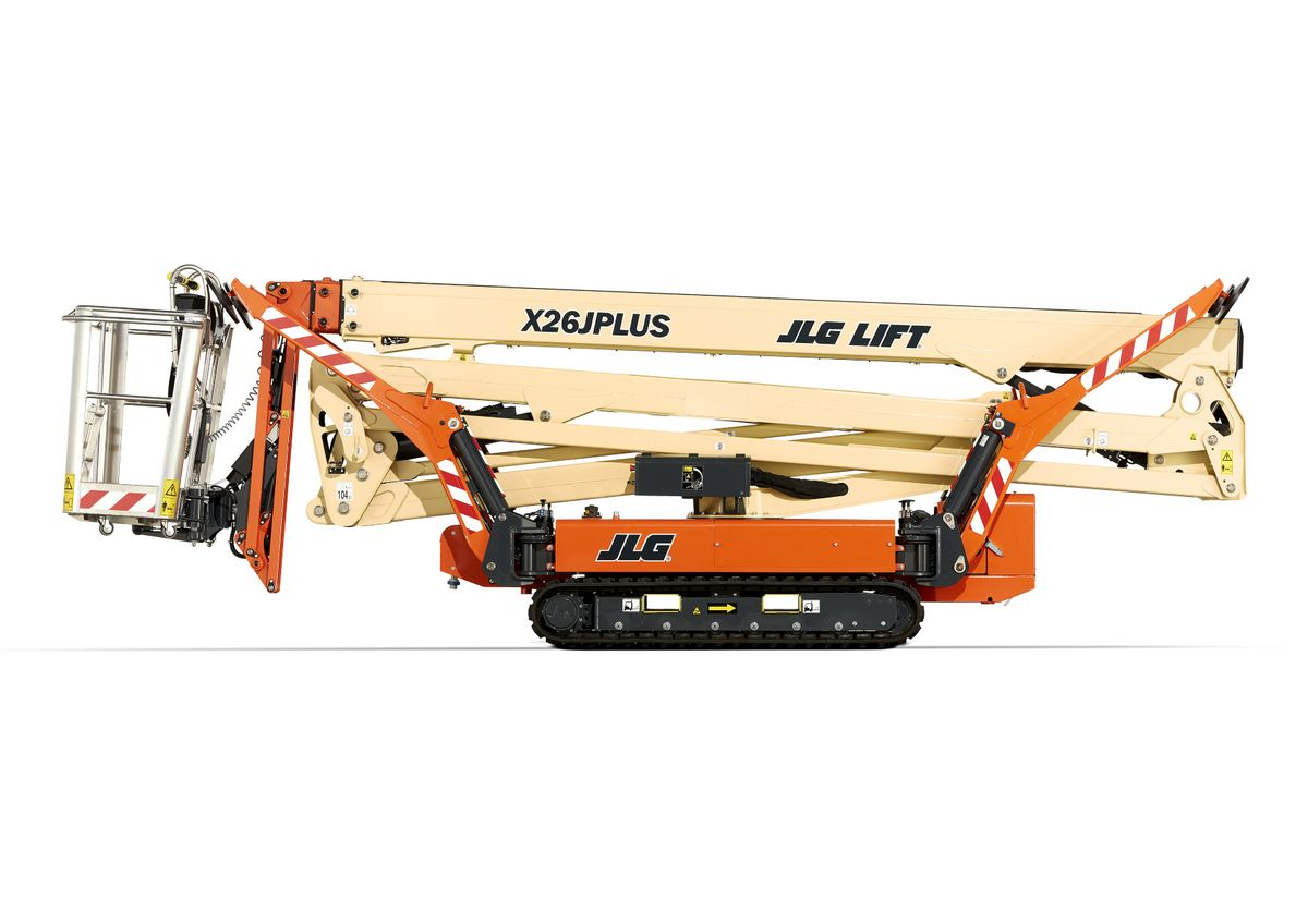 Spider lifts on rubber tracks - TVH Equipment